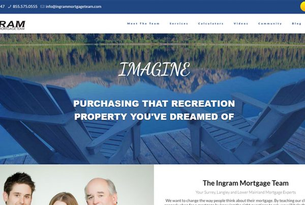 Ingram Mortgage Team Website